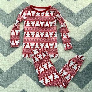 Baby Gap Christmas bear pajamas 3 years